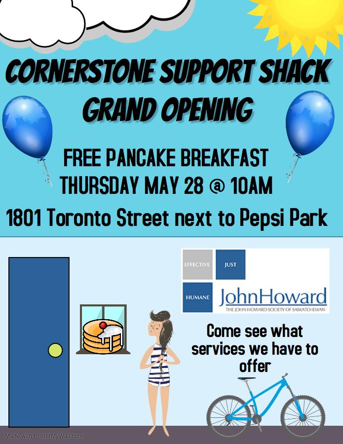 Corner Stone Support Shack Grand Opening Pancake Breakfast - Image 1