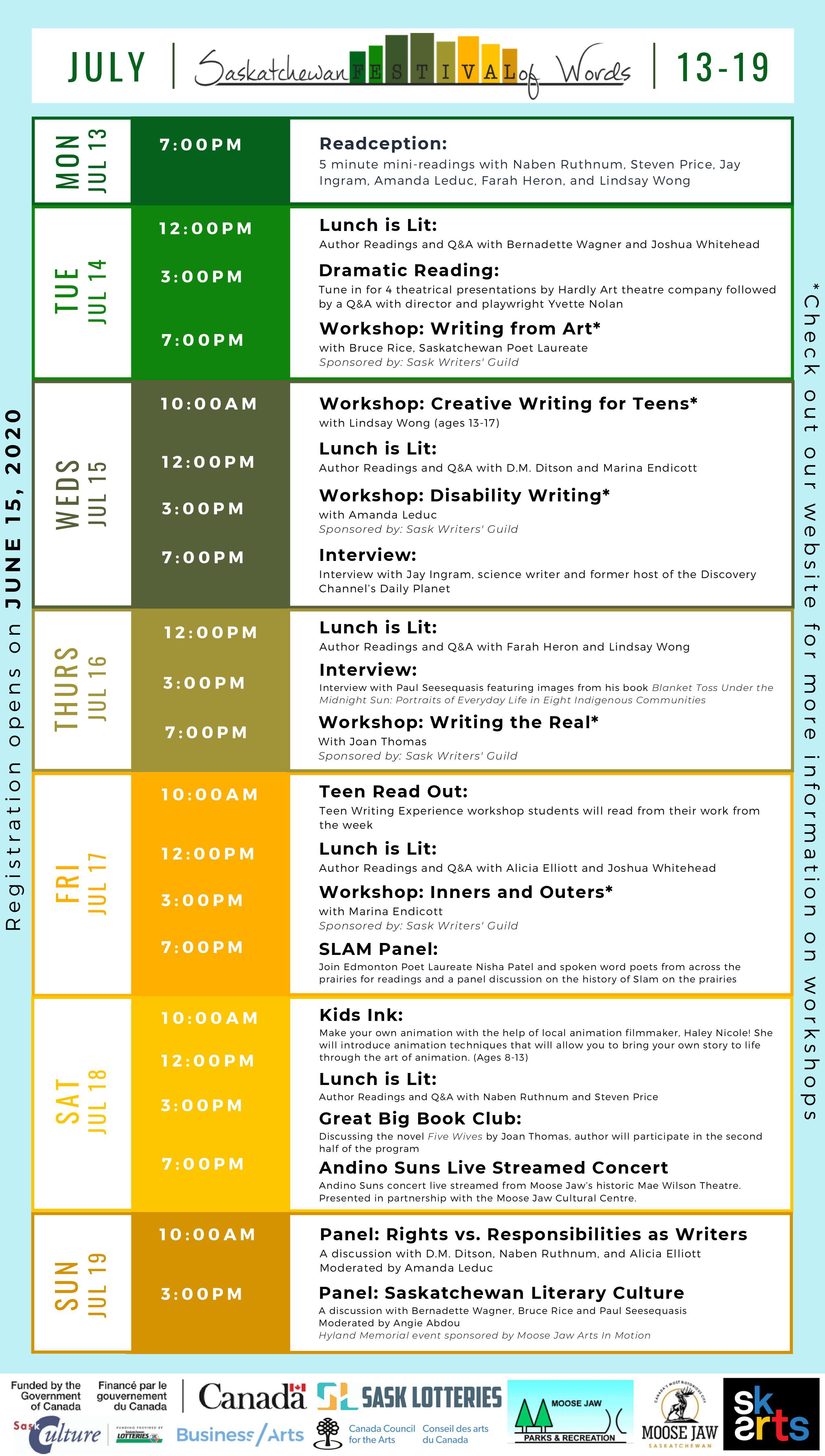 Saskatchewan Festival of Words - Image 1