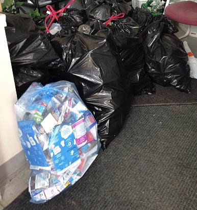 First Bottle Drive a Success - Image 1