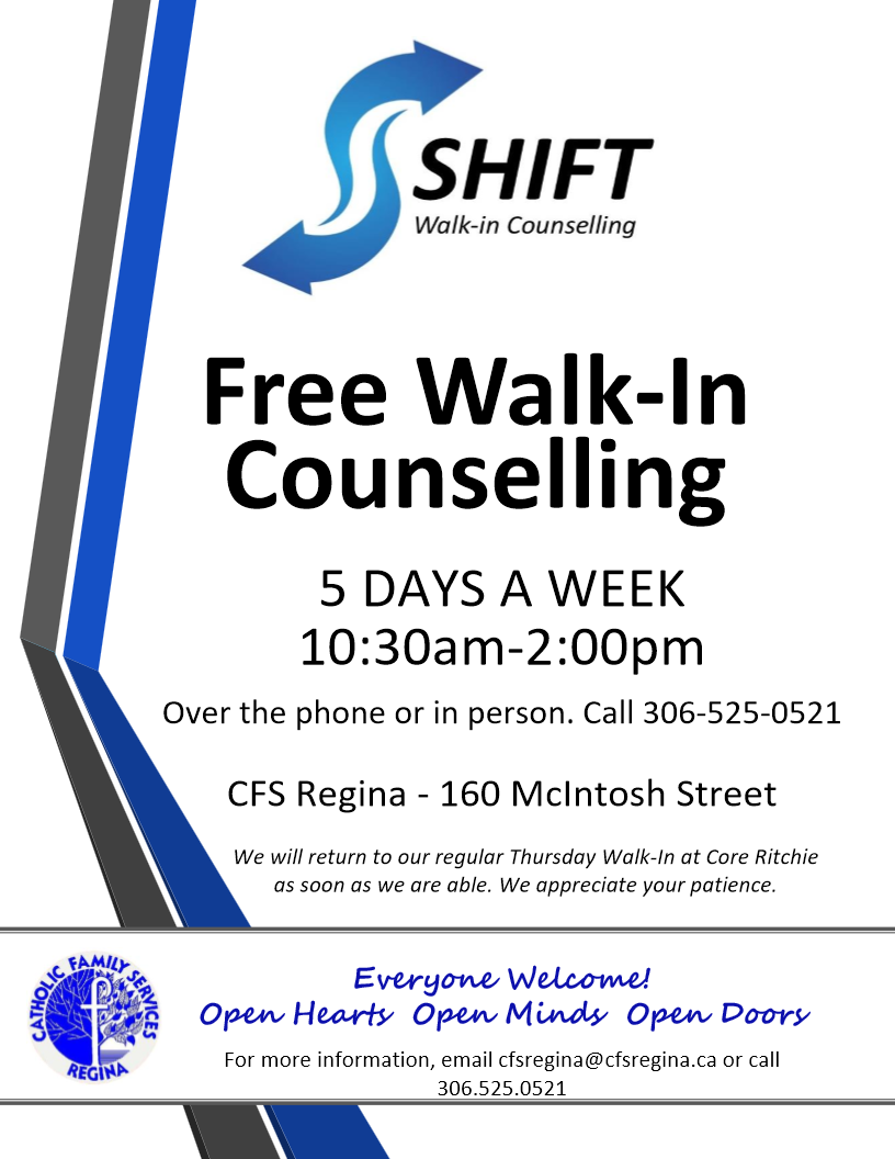 Free Walk In Counselling - Image 1