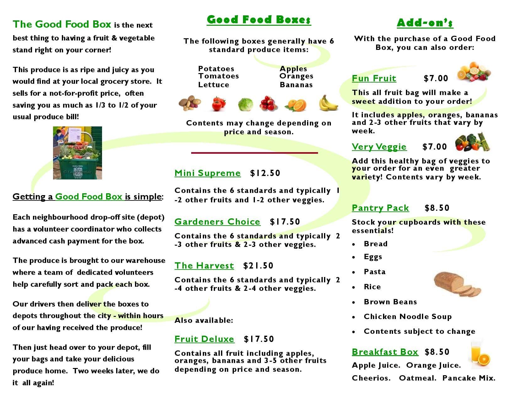 GOOD FOOD BOX - Image 2