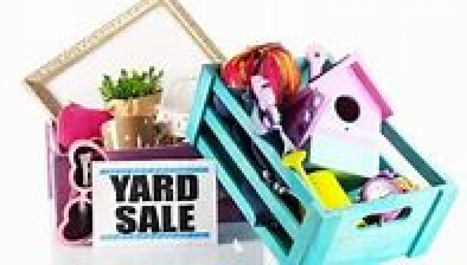 Residents reminded not to hold garage & yard sales