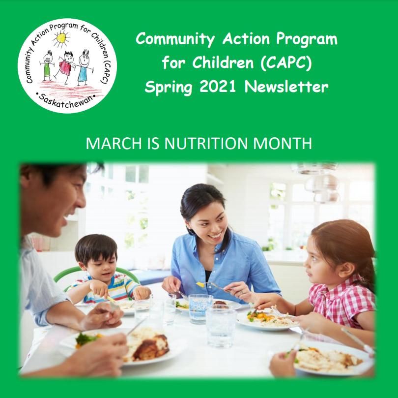 Community Action Program for Children Newsletter - Image 1