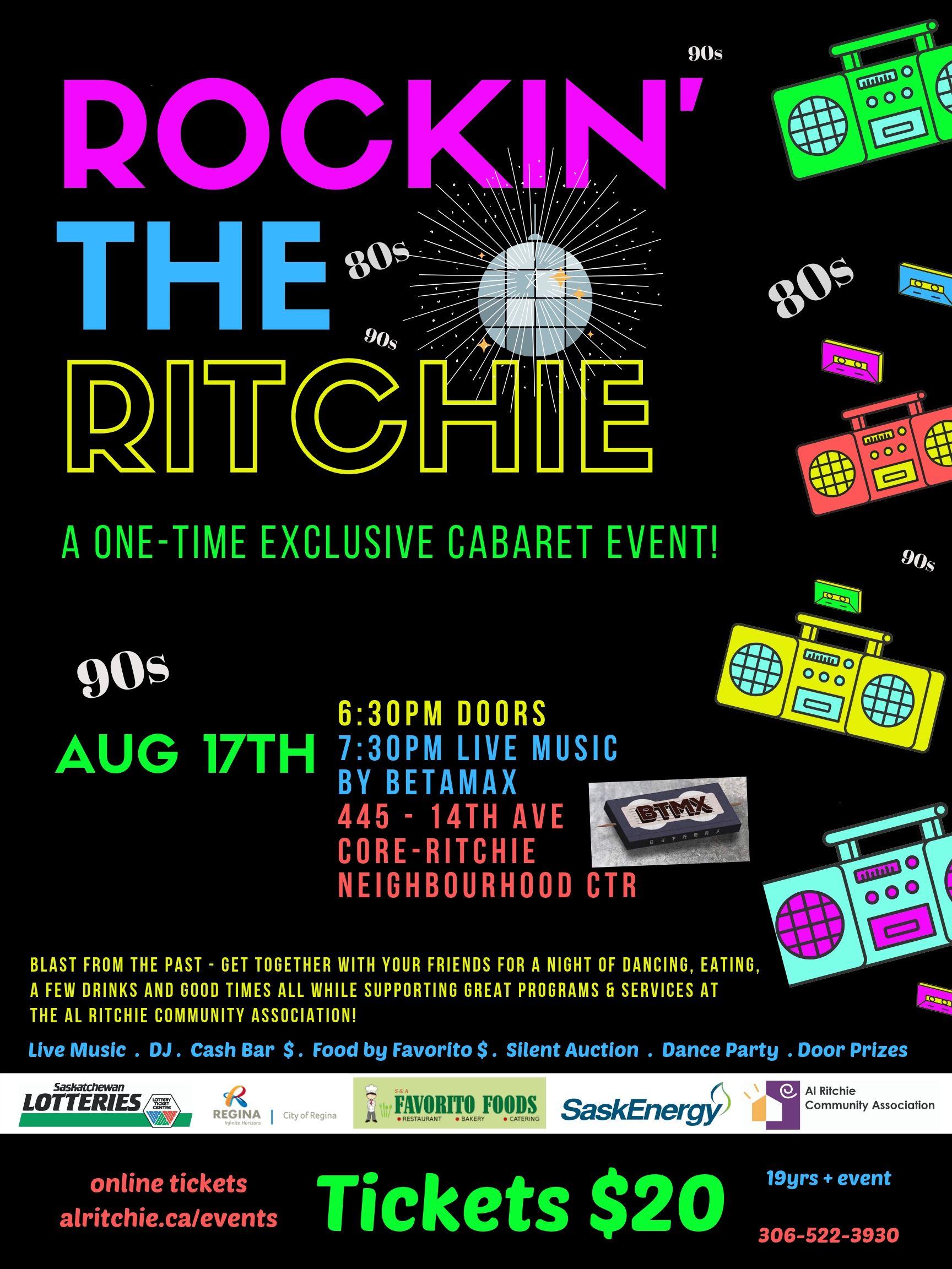 Rockin the Ritchie