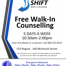Free Walk In Counselling